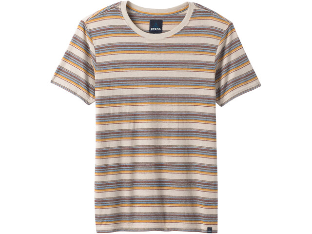Prana Dustin Shortsleeve T-Shirt Men toffee